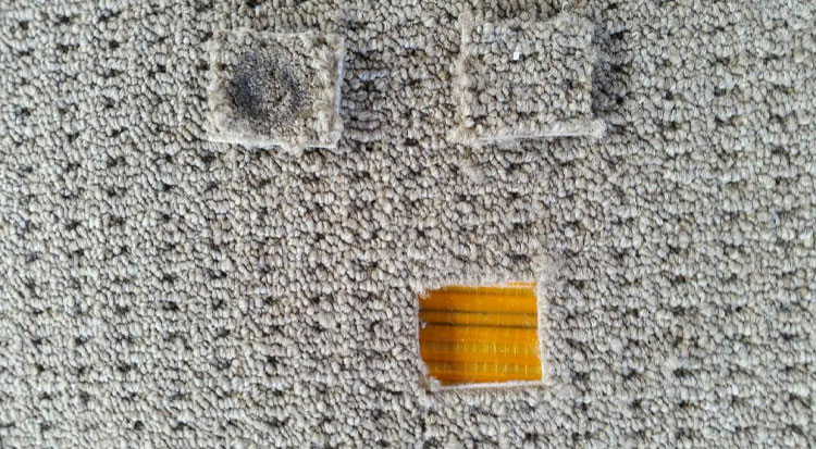 Cigarette Burn Carpet Repairs